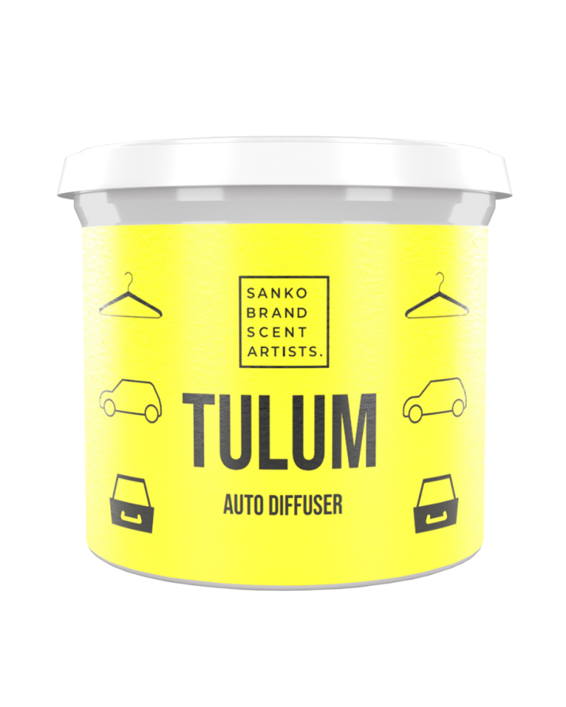 TULUM AUTO DIFFUSER αρωματικό μικρού χώρου: αυτοκίνητο, ντουλάπα, συρτάρια