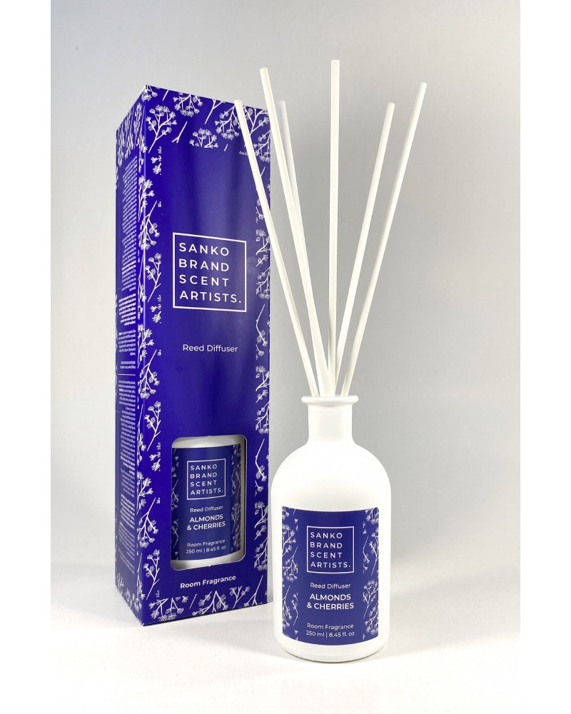 ALMONDS & CHERRIES Reed Diffuser αρωματικό χώρου 250 ml