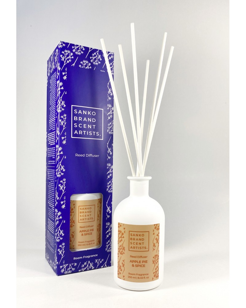 APPLE PIE & SPICE Reed Diffuser αρωματικό χώρου 250 ml