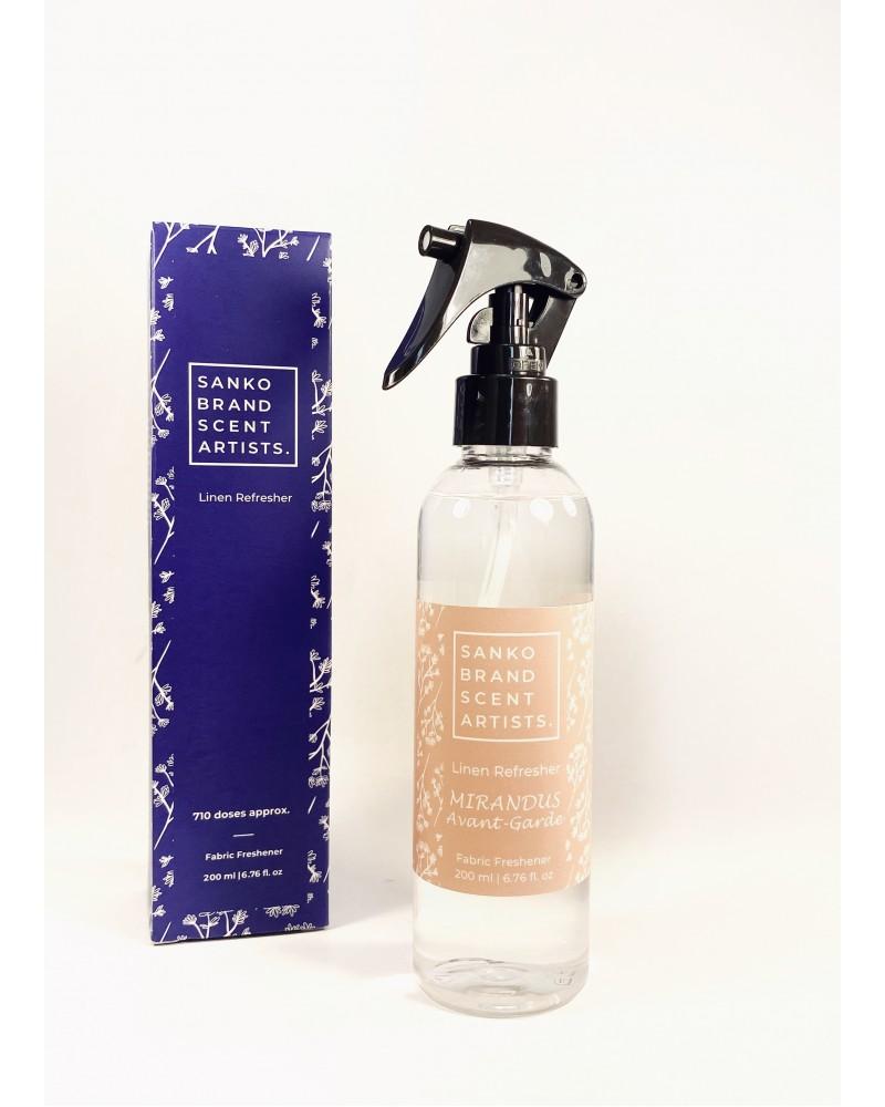MIRANDUS AVANT-GARDE Linen Refresher αρωματικό για το φρεσκάρισμα των υφασμάτων 200 ml