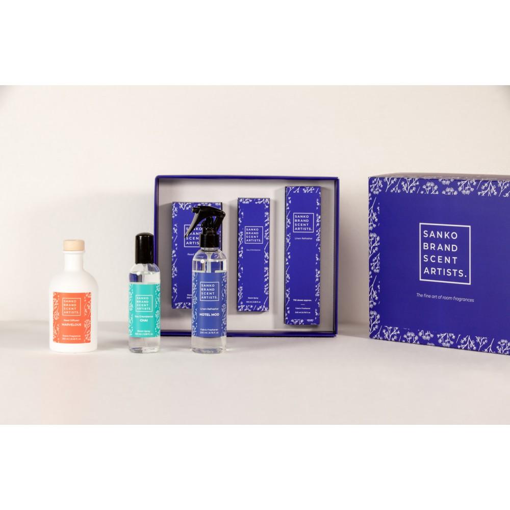 THE KIT - Κασετίνα με 3 προϊόντα που συμπεριλαμβάνει: Reed Diffuser, Eau D'Ambiance και Linen Refresher