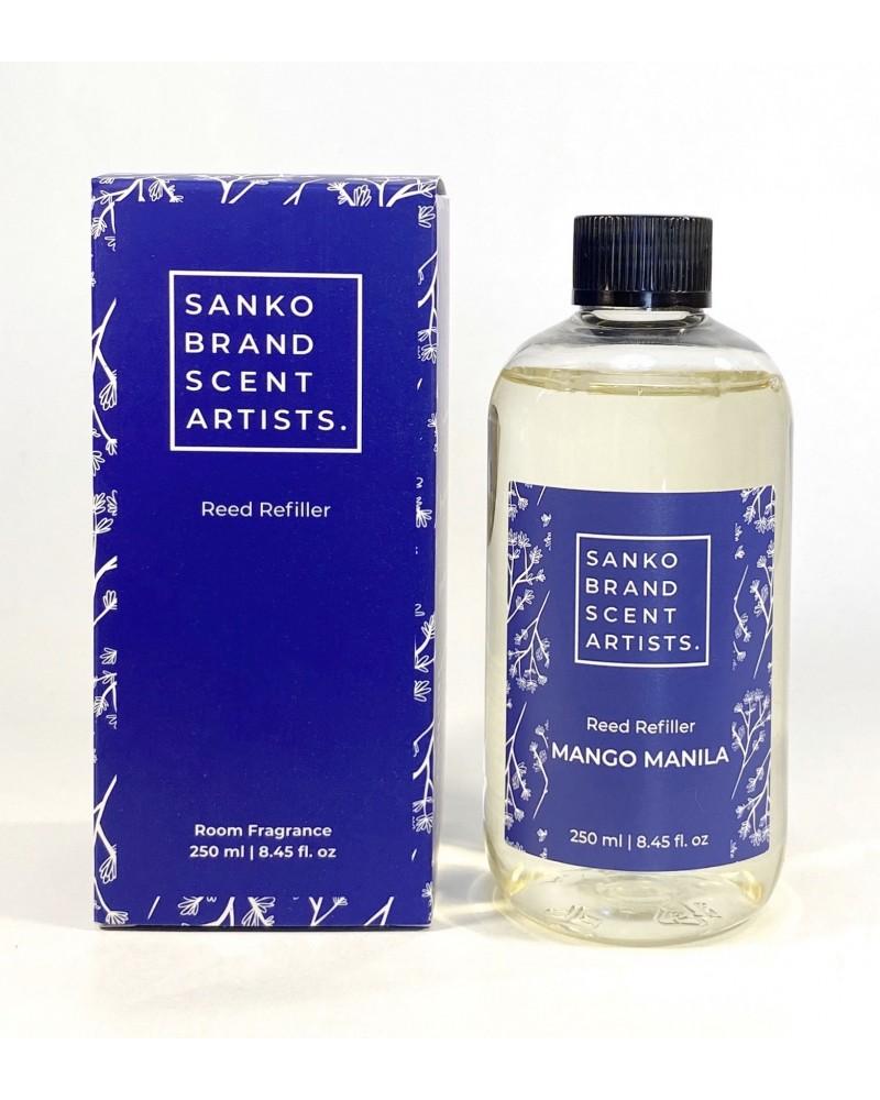 MANGO MANILA Reed Refiller αρωματικό χώρου 250 ml (Ανταλλακτικό για το Reed Diffuser)