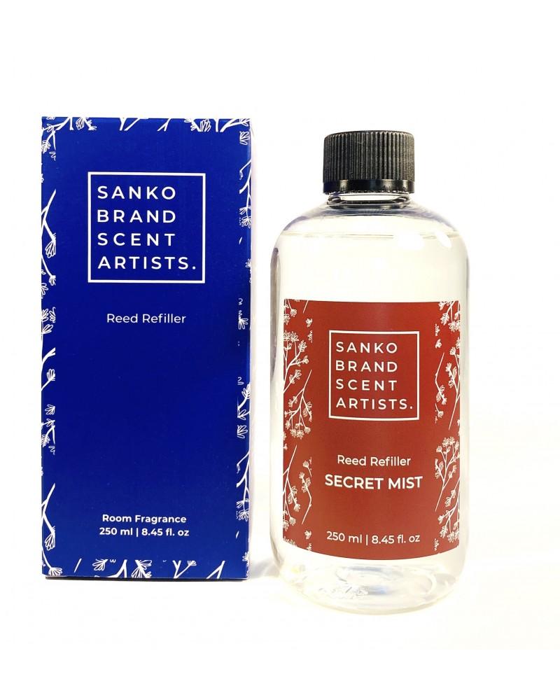 SECRET MIST Reed Refiller αρωματικό χώρου 250 ml (Ανταλλακτικό για το Reed Diffuser)